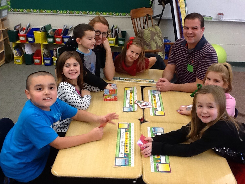 Amazing 1st Grade Christmas Party Ideas Part - 6: At The Next Station The First Graders Played A Left Right Middle Sight Word  Game. Games Always Make Learning More Fun! Thank You Mrs. Juros And Mr. ...