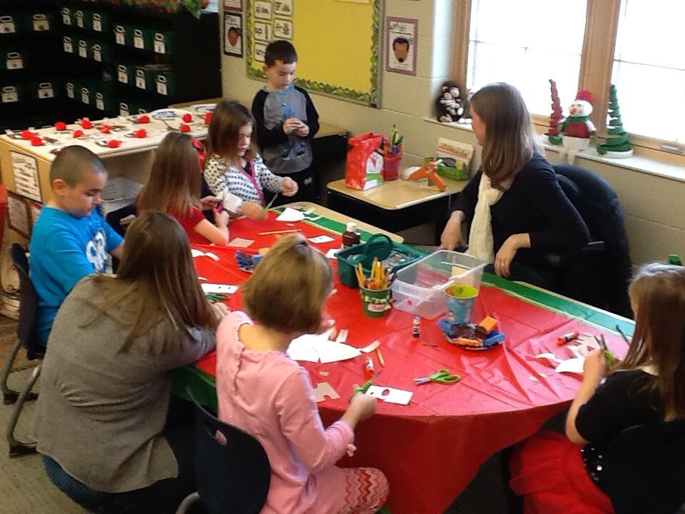 Classroom Winter Party Fun!   Organized Classroom